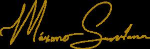 Firma Máximo Santana